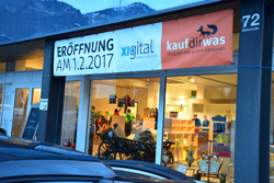 Eröffnung Ladenlokal in Dornbirn Hatlerdorf