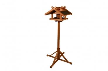 vogelhaus mit kupferdach und futtersilo kaufdirwas holzspielzeug deko und geschenkartikel. Black Bedroom Furniture Sets. Home Design Ideas