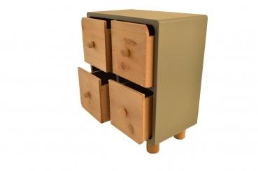 Arti Casa Mini Kommode 4 Schubladen Kaufdirwas Holzspielzeug
