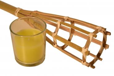 Bambus Gartenfackel Kerze Grun Kaufdirwas Holzspielzeug Deko Und