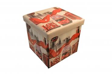 Aufbewahrungsbox hocker london kaufdirwas holzspielzeug deko