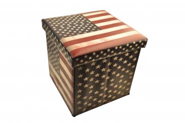 Aufbewahrungsbox Hocker Usa Kaufdirwas Holzspielzeug Deko Und