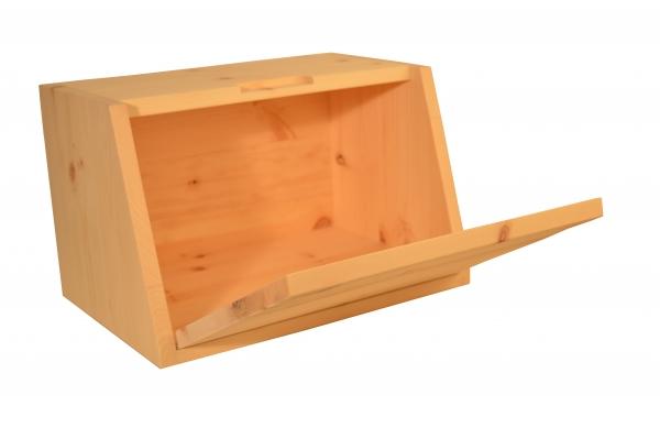 kleiner brotkasten aus zirbenholz kaufdirwas holzspielzeug deko und geschenkartikel. Black Bedroom Furniture Sets. Home Design Ideas